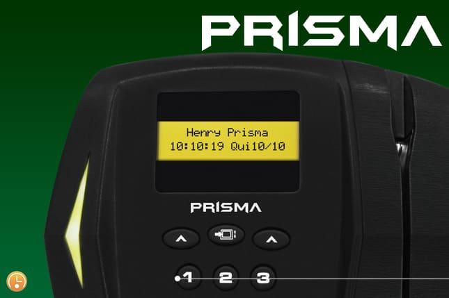 Relógio de ponto (rep) prisma