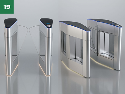 Catraca de Acesso Biométrico